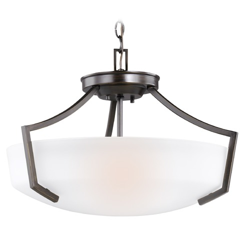Sea Gull Lighting Sea Gull Hanford Burnt Sienna Pendant Light 7724503-710