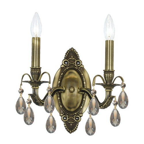 Crystorama Lighting Crystorama Lighting Dawson Antique Brass Sconce 5562-AB-GTS