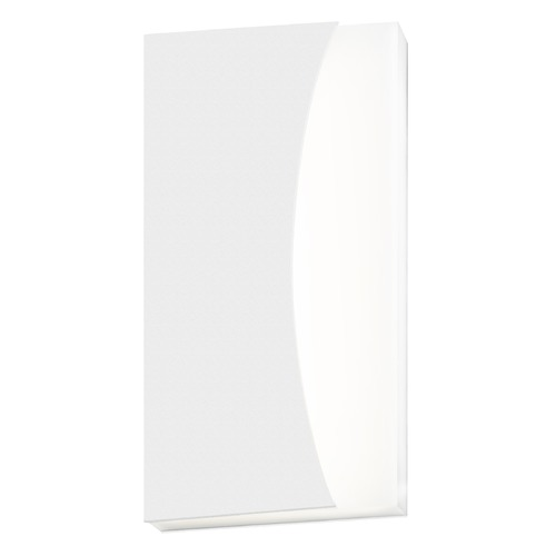 Sonneman Lighting Sonneman Nami Textured White LED Outdoor Wall Light 7218.98-WL