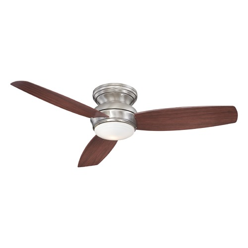 Minka Aire 52-Inch Minka Aire Traditional Concept Pewter LED Ceiling Fan with Light F594L-PW