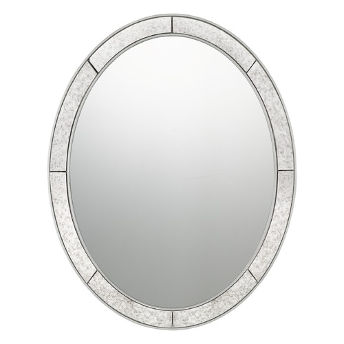 Quoizel Lighting Transitional Mirror Silver Leaf Quoizel Reflections by Quoizel Lighting QR3335