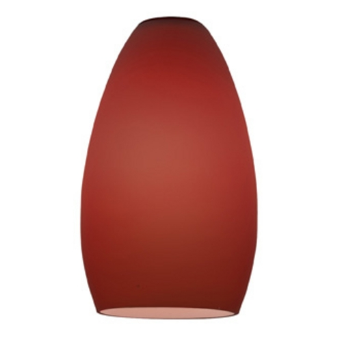 Access Lighting Plum Bowl / Dome Glass Shade with 1-5/8-Inch Fitter Opening 23112-PLM