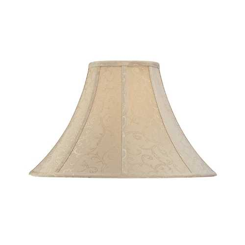 Dolan Designs Lighting Jacquard Round Bell Soft Back Lamp Shade with Piping 140061