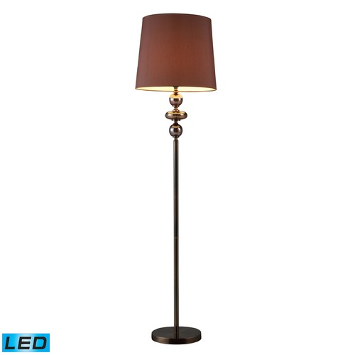 Dimond Lighting Dimond Lighting Bronze, Coffee Plating LED Floor Lamp with Empire Shade D1607-LED