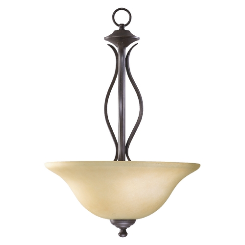 Quorum Lighting Quorum Lighting Spencer Toasted Sienna Pendant Light 8110-3-44
