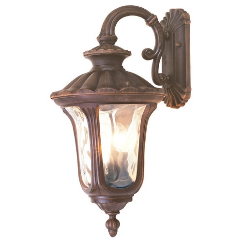Livex Lighting Livex Lighting Oxford Imperial Bronze Outdoor Wall Light 7657-58