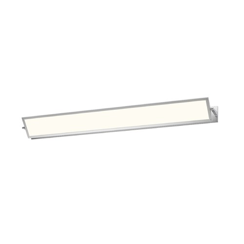 Sonneman Lighting Sonneman Aileron Bright Satin Aluminum LED Sconce 2704.16