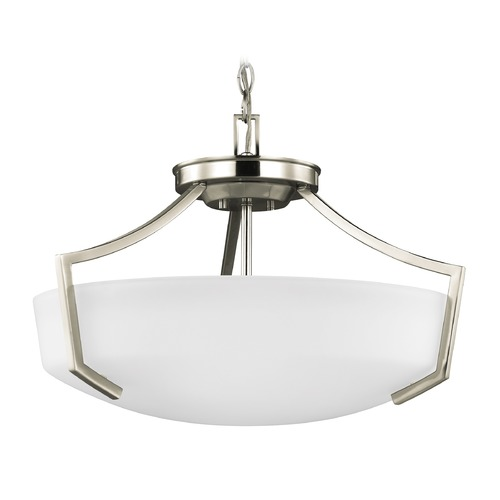 Sea Gull Lighting Sea Gull Hanford Brushed Nickel Pendant Light 7724503-962