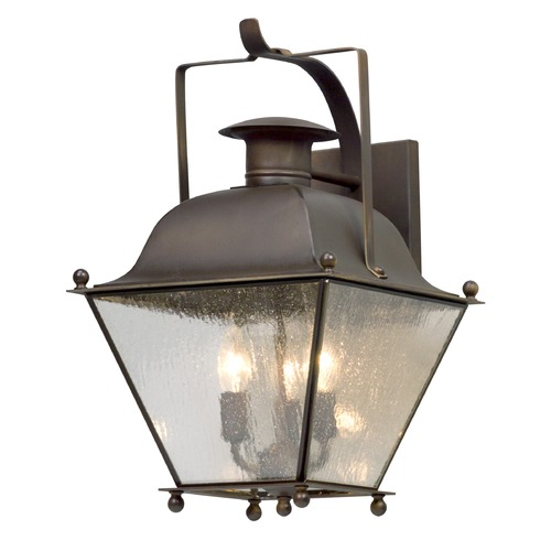 Troy Lighting Troy Lighting Wellesley Natural Rust Outdoor Wall Light B5072NR