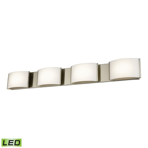 Alico Industries Lighting Alico Lighting Pandora LED Satin Nickel LED Bathroom Light BVL914-10-16M