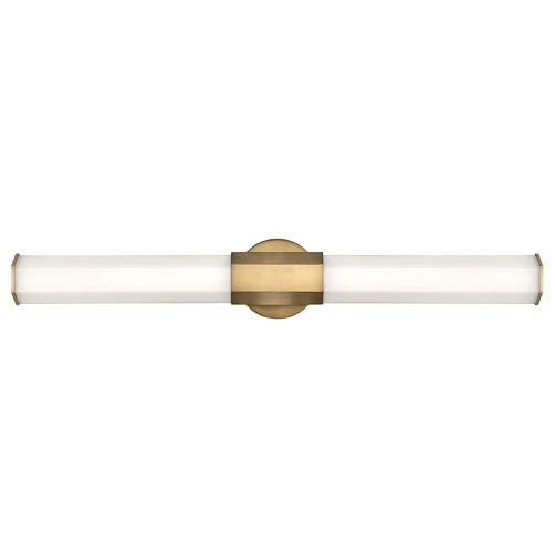 Hinkley Lighting Hinkley Lighting Facet Heritage Brass LED Vertical Bathroom Light 51153HB