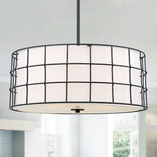 Savoy House Savoy House Hayden 5-Light Black Pendant 7-8501-5-89