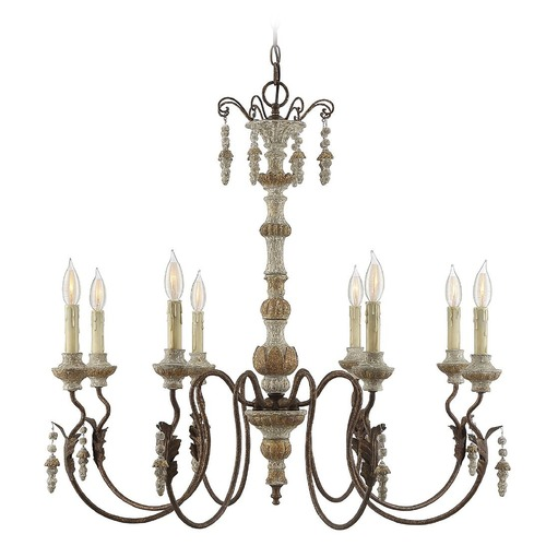 Savoy House Savoy House Lighting Dauphin Avignon Chandelier 1-9998-8-94