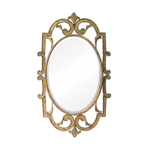 Sterling Lighting Oval 24-Inch Mirror 55-214
