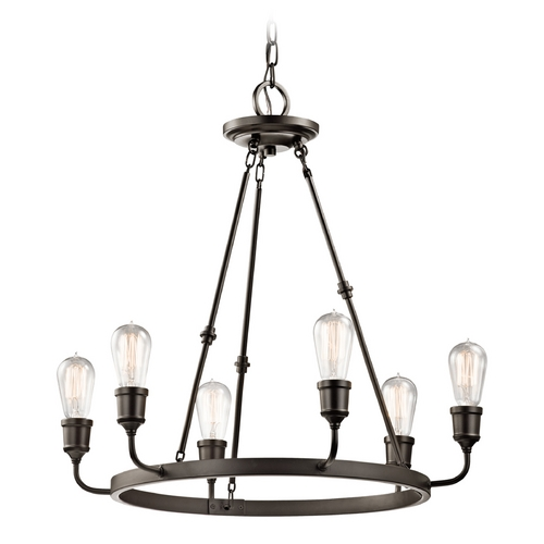 Kichler Lighting Kichler Lighting Lucien Olde Bronze Chandelier 42708OZ