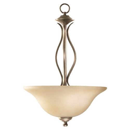 Quorum Lighting Quorum Lighting Spencer Mystic Silver Pendant Light 8110-3-58