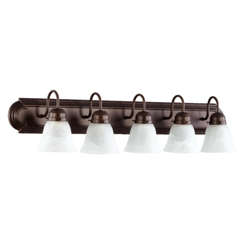 Quorum Lighting Quorum Lighting Toasted Sienna Bathroom Light 5094-5-144