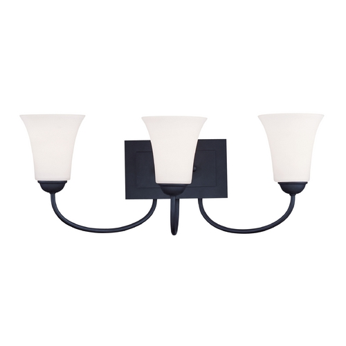 Livex Lighting Livex Lighting Ridgedale Black Bathroom Light 6483-04