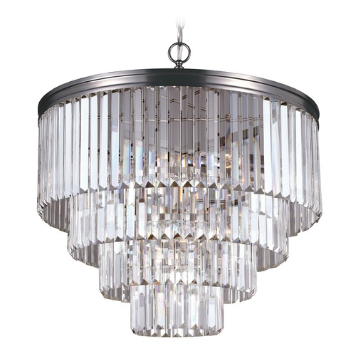 Sea Gull Lighting Sea Gull Lighting Carondelet Antique Brushed Nickel Pendant Light 3114006-965