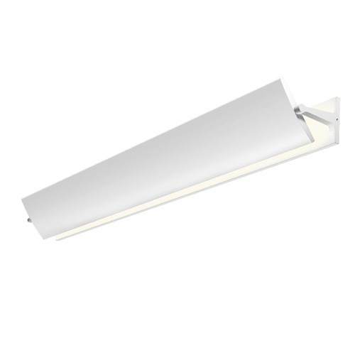 Sonneman Lighting Sonneman Aileron Textured White LED Sconce   2704.98