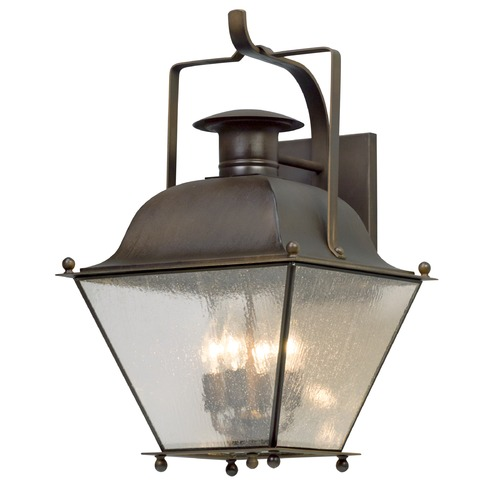 Troy Lighting Troy Lighting Wellesley Natural Rust Outdoor Wall Light B5073NR