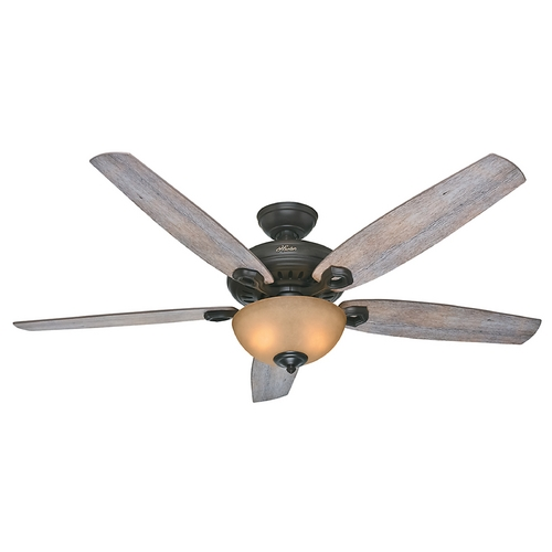 Hunter Fan Company Hunter Fan Company Valerian Brittany Bronze Ceiling Fan with Light 54062