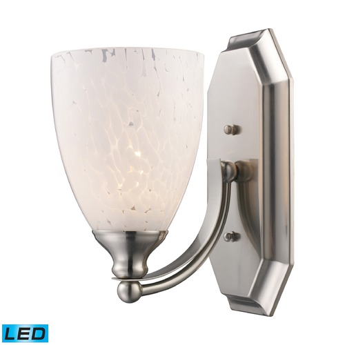 Elk Lighting Elk Lighting Bath and Spa Satin Nickel LED Sconce 570-1N-SW-LED