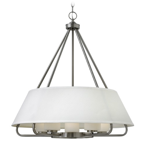 Hinkley Lighting Hinkley Lighting Cole Brushed Nickel Chandelier 3955BN