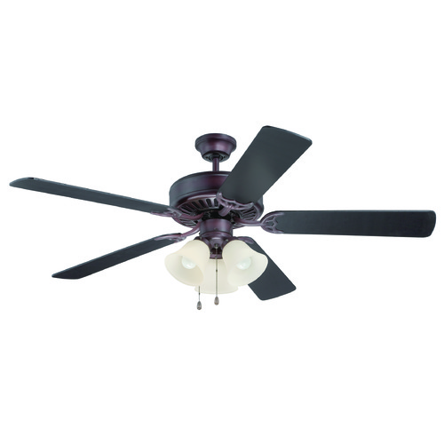 Craftmade Lighting Craftmade Pro Builder 206 Oiled Bronze Ceiling Fan with Light K11118