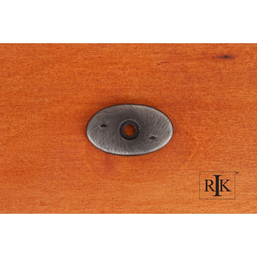 RK International Distressed Oval Backplate BP488DN