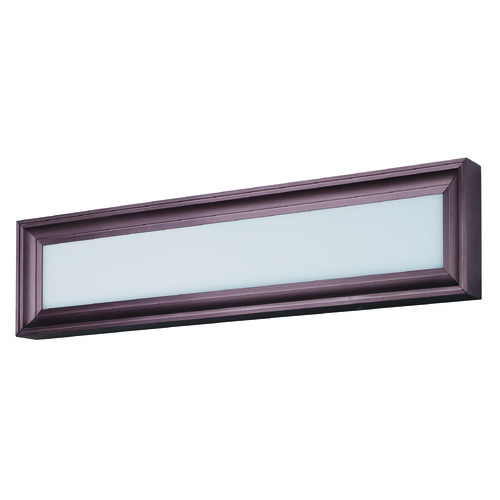 Maxim Lighting Maxim Lighting Rembrant LED Anodized Bronze LED Bathroom Light 39664WTBRZ
