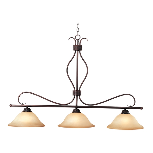 Maxim Lighting Modern Island Light in Oil Rubbed Bronze Finish 10127WSOI