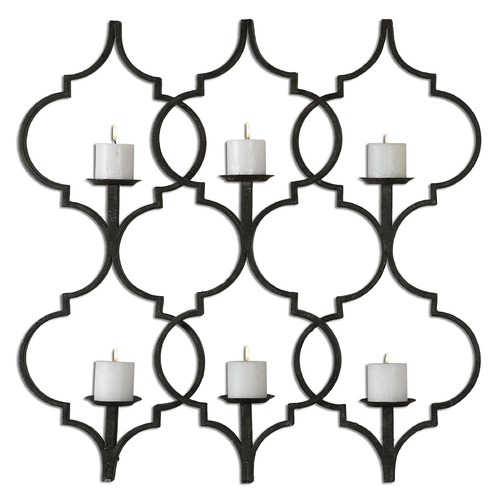 Uttermost Lighting Uttermost Zakaria Metal Candle Wall Sconce 13998
