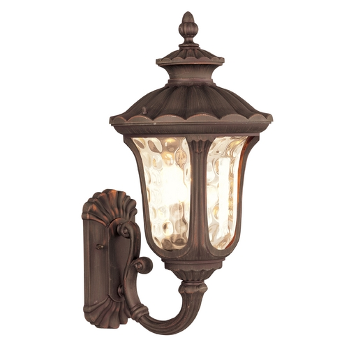 Livex Lighting Livex Lighting Oxford Imperial Bronze Outdoor Wall Light 7656-58