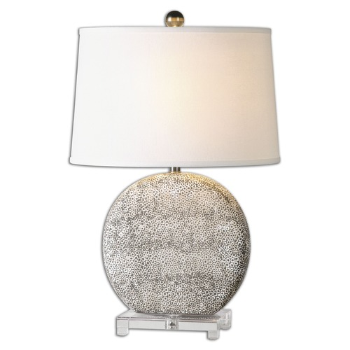 Uttermost Lighting Uttermost Albinus White Lamp 26132