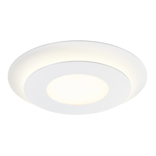 Sonneman Lighting Sonneman Offset Textured White LED Flushmount Light 2729.98