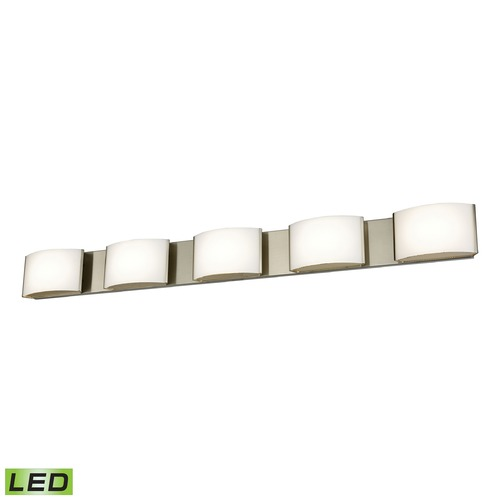 Alico Industries Lighting Alico Lighting Pandora LED Satin Nickel LED Bathroom Light BVL915-10-16M