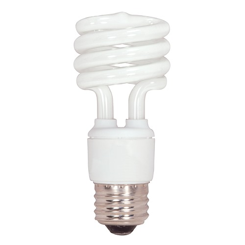 Satco Lighting 15-Watt Mini Compact Fluorescent Light Bulb S7223