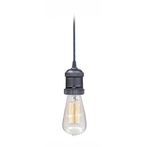 Maxim Lighting Maxim Lighting Mini Hi-Bay Polished Nickel Mini-Pendant Light 25018PN/BUI