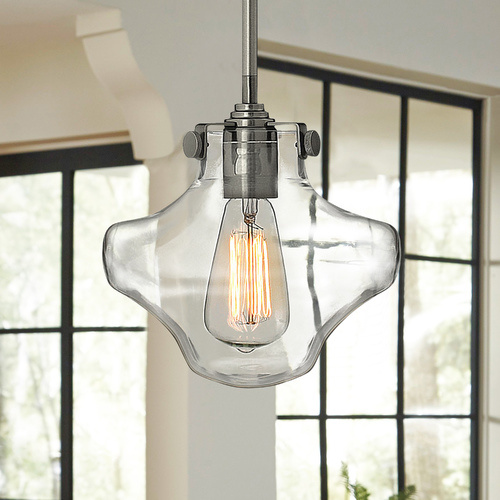 Hinkley Mini-Pendant Light with Clear Glass 3129CM