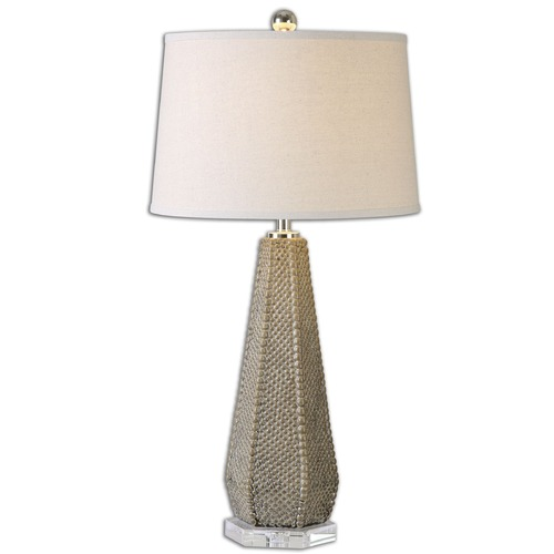 Uttermost Lighting Uttermost Pontius Taupe Lamp 26133