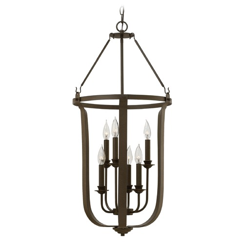 Hinkley Lighting Hinkley Lighting Fenmore Textured Bronze Pendant Light 4946TZ