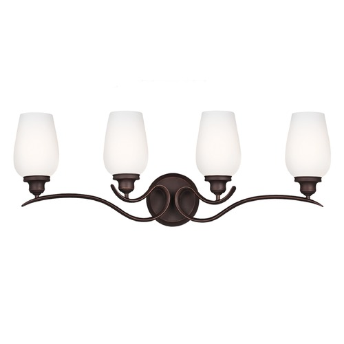 Feiss Lighting Feiss Lighting Standish Oil Rubbed Bronze with Highlights Bathroom Light VS21304ORBH