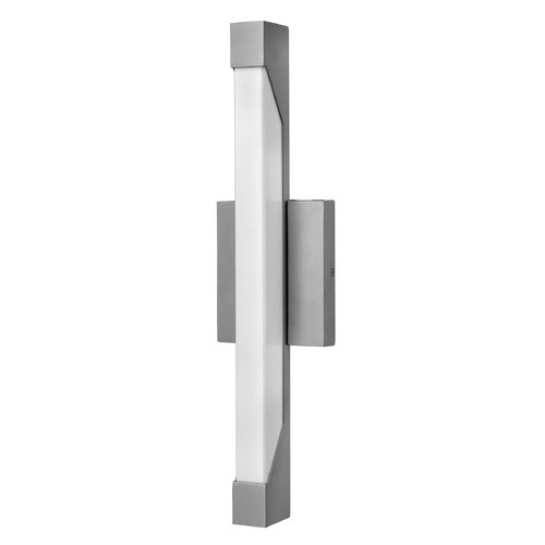 Hinkley Lighting Hinkley Lighting Vista Titanium LED Outdoor Wall Light 12302TT