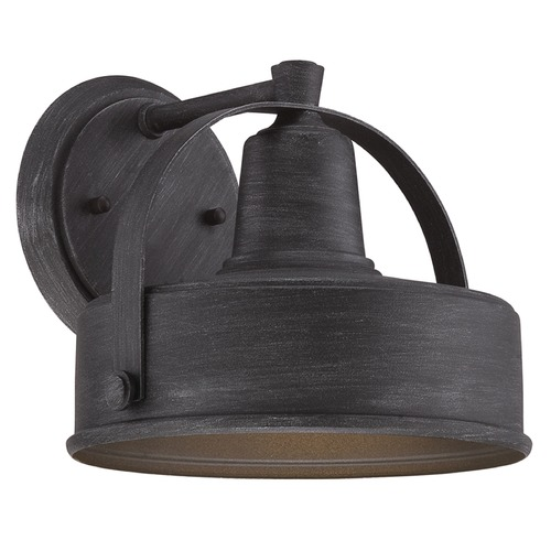 Designers Fountain Lighting Designers Fountain Portland-Ds Weathered Pewter Outdoor Wall Light 33141-WP