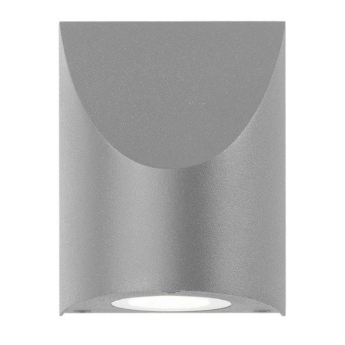 Sonneman Lighting Sonneman Shear Textured Gray LED Outdoor Wall Light 7222.74-WL