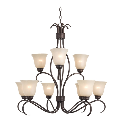 Maxim Lighting Maxim Lighting Basix Oil Rubbed Bronze Chandelier 10128WSOI