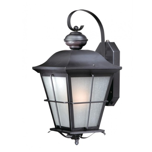 Vaxcel Lighting Vaxcel New Haven Oil Rubbed Bronze Outdoor Wall Light SR53131OR