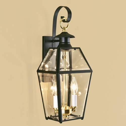 Norwell Lighting Norwell Lighting Olde Colony Verde Outdoor Wall Light 1066-VE-BE