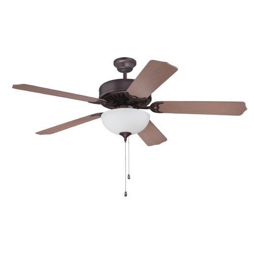 Craftmade Lighting Craftmade Pro Builder 207 Oiled Bronze Ceiling Fan with Light K11122